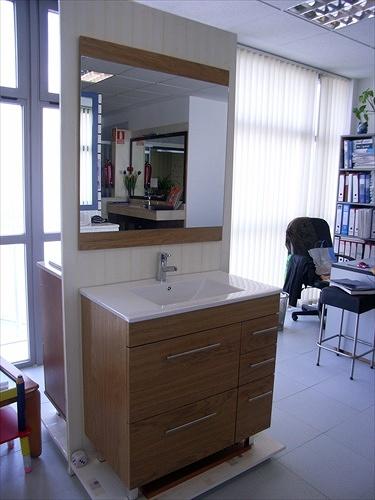Foto Mueble de Serie Roble de Muebles De Baño Jara #282054
