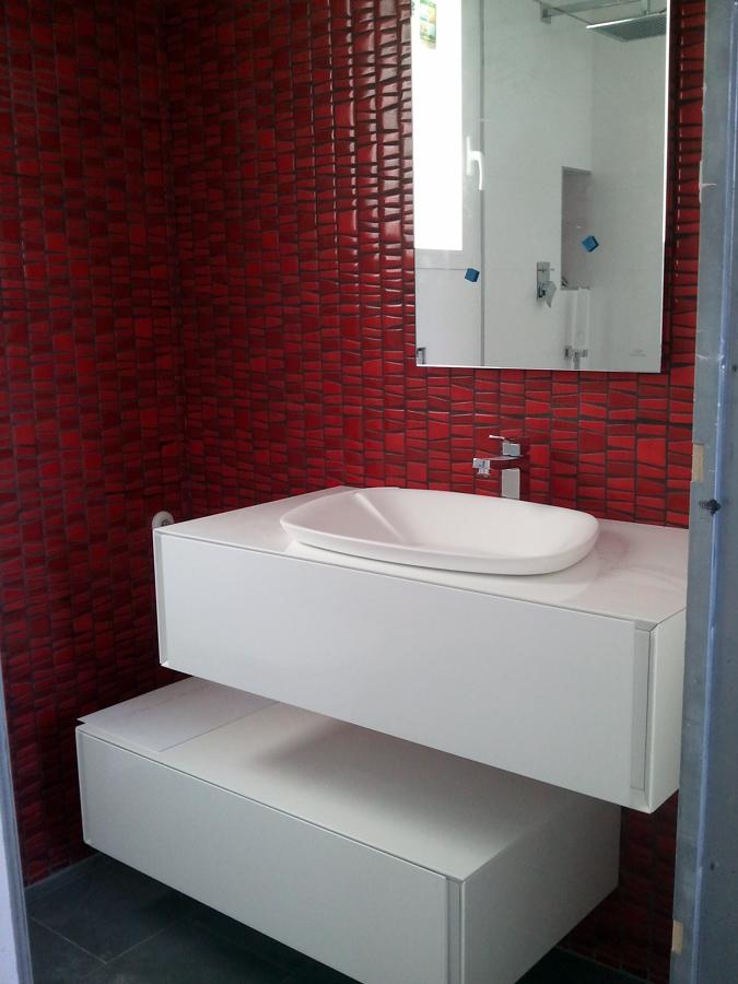 Mueble del baño en suite