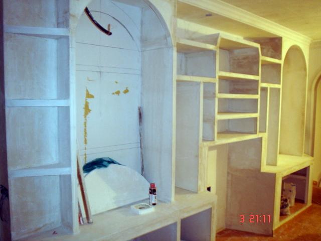mueble escayola