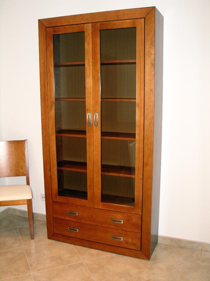 Mueble estanteria y cajones