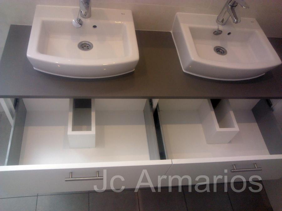Foto mueble lavabo cajonera a medida de jc armarios 237441 habitissimo - Lavabos a medida ...