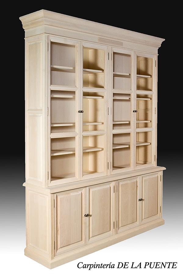 Muebles madera haya 20170906202634 for Muebles de libreria