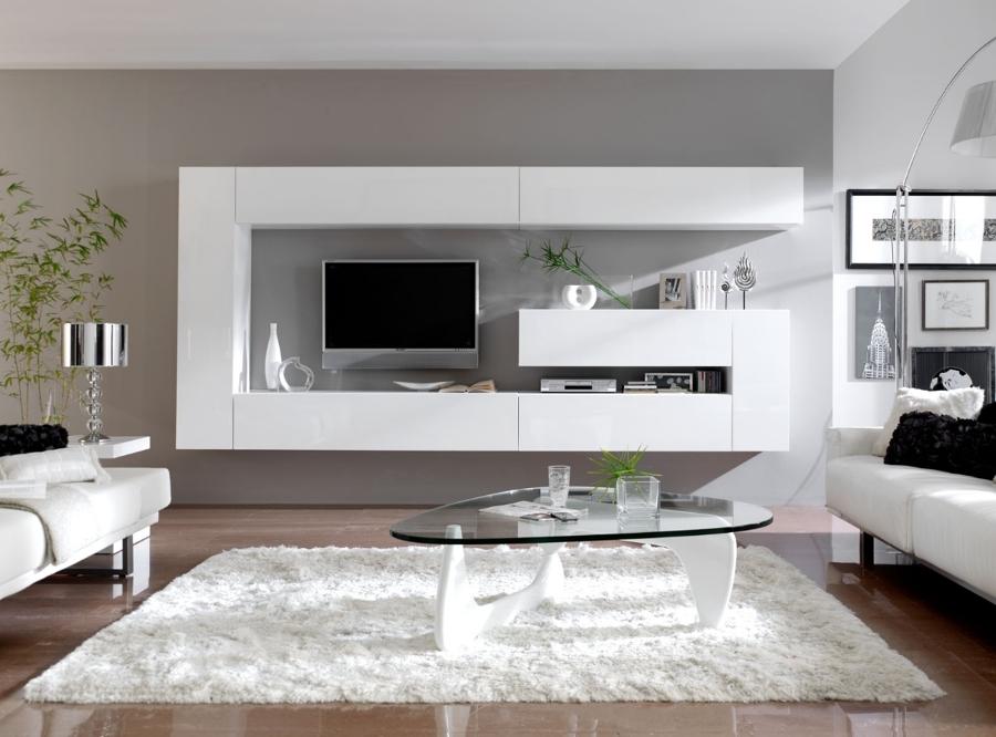 Foto Mueble Modular Lacado Blanco De Muebles La Plaza
