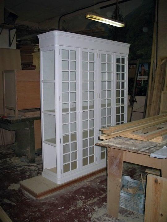 Foto mueble platero para la cocina segun dise o de raul for Mueble platero
