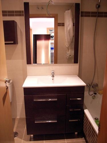 Encimeras Baño Wengue:Foto: Mueble Wengue Encimera de Porcelana de Muebles De Baño Jara
