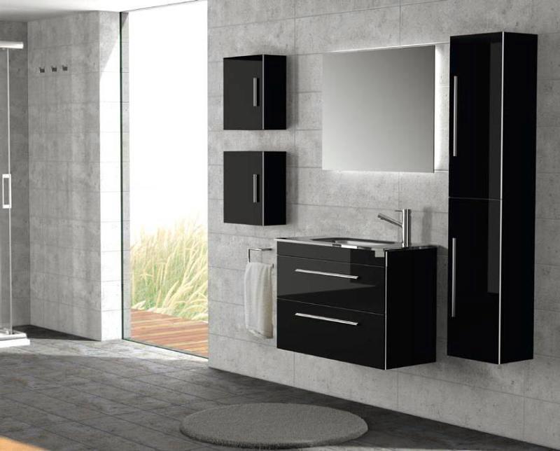 Foto muebles de ba o salgar de vidrios y aluminios for Muebles de bano zaragoza