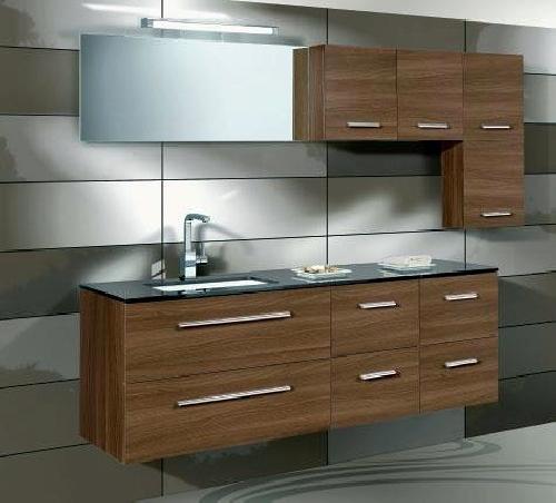 Foto muebles de ba o salgoar de vidrios y aluminios - Muebles bano asturias ...