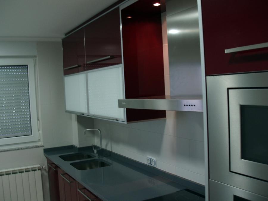 Foto muebles de cocina en brillo de grupo dobled 396825 - Muebles de cocina albacete ...