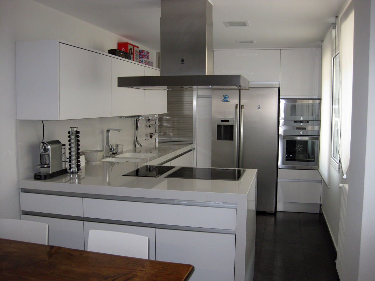Foto muebles de cocina de muebles de cocina zappin - Muebles de cocina albacete ...