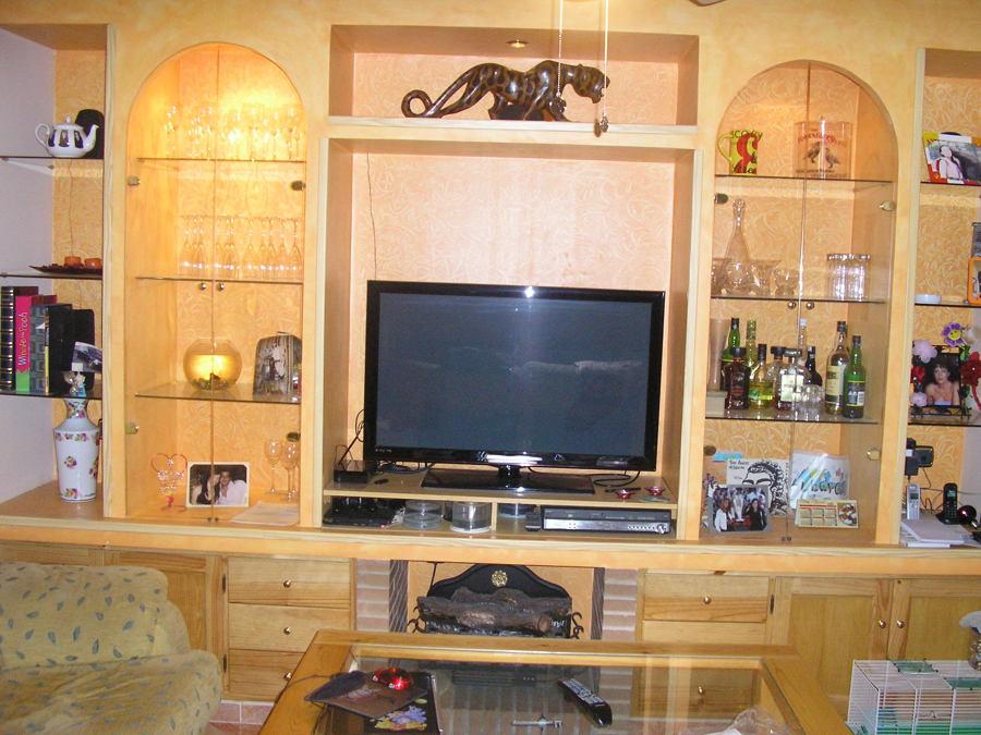 Foto muebles de obra de andr s s nchez 507328 habitissimo - Muebles de obra para salon ...