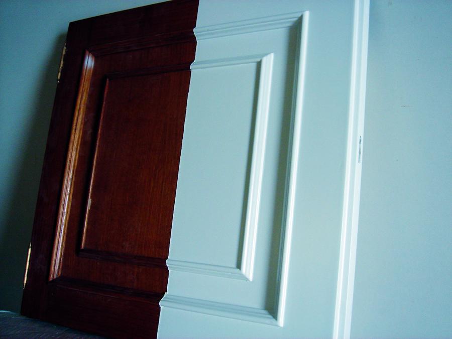Foto muestra lacado madera vieja de barnizados mauri - Lacado de madera ...