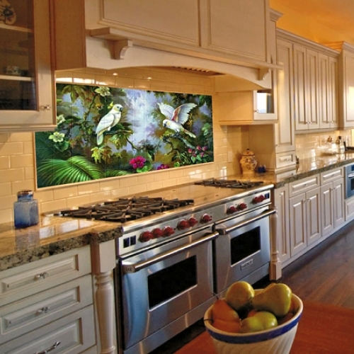 Foto mural cocina de jm ceramicas 378885 habitissimo - Fotomural para cocina ...