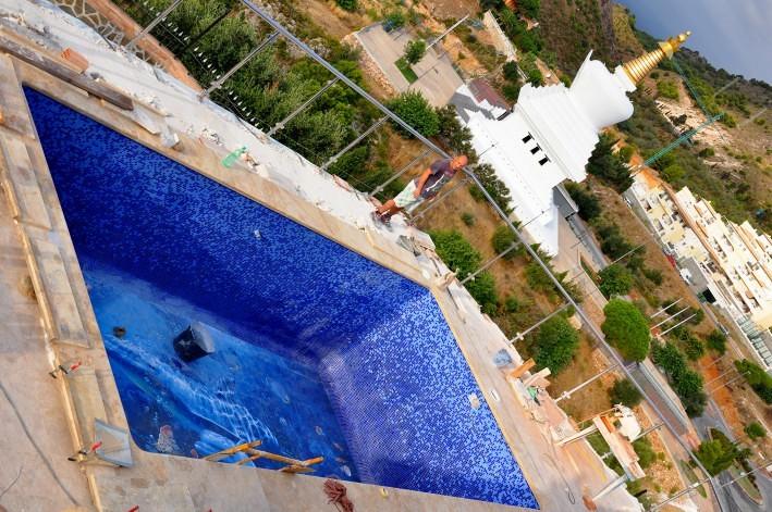 Foto mural delfines y peces de jm ceramicas 378868 for Piscina de peces