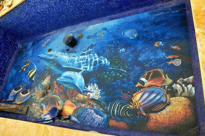 Foto mural delfines de jm ceramicas 378869 habitissimo for Jm decoracion granada