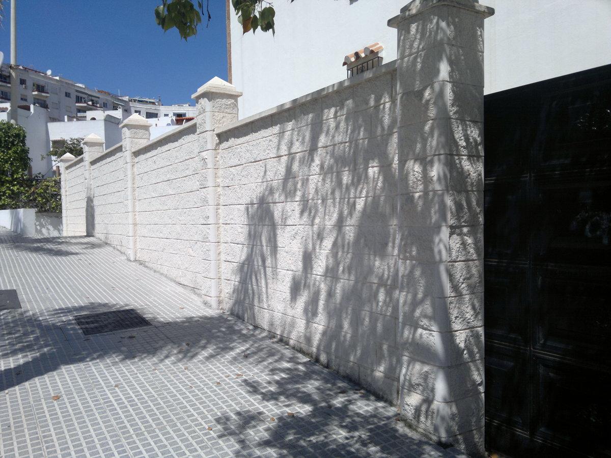 Foto muro de bloque de 40 x 20 x 20 de apinfo 229744 - Muro de bloques ...