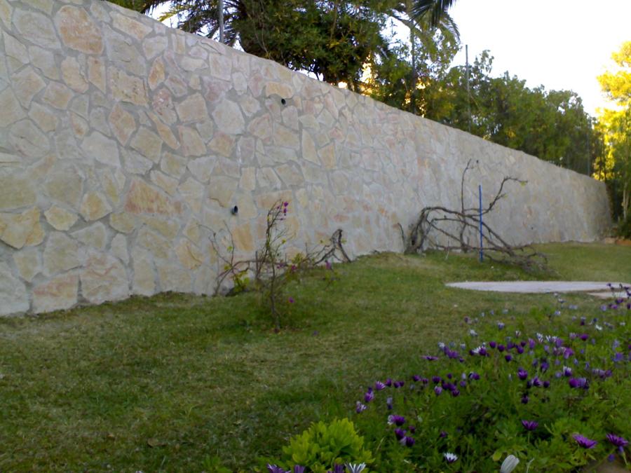 Foto muro de piedra natural de reformas eurotabics - Muro de piedra natural ...