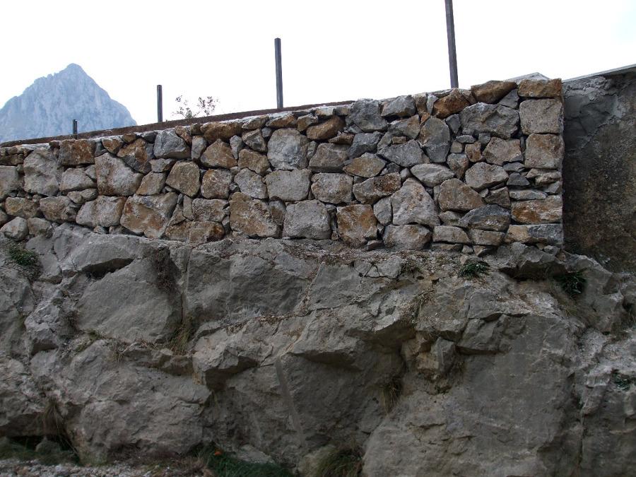 Foto muro de piedra de construciprian laredo 144498 - Piedra para muros exteriores ...