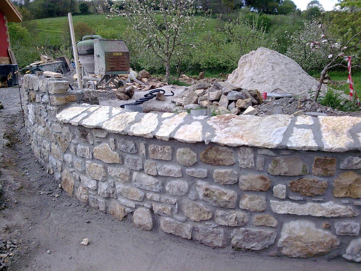 Foto muro de piedra de construcciones jack 207911 - Muros de piedra ...