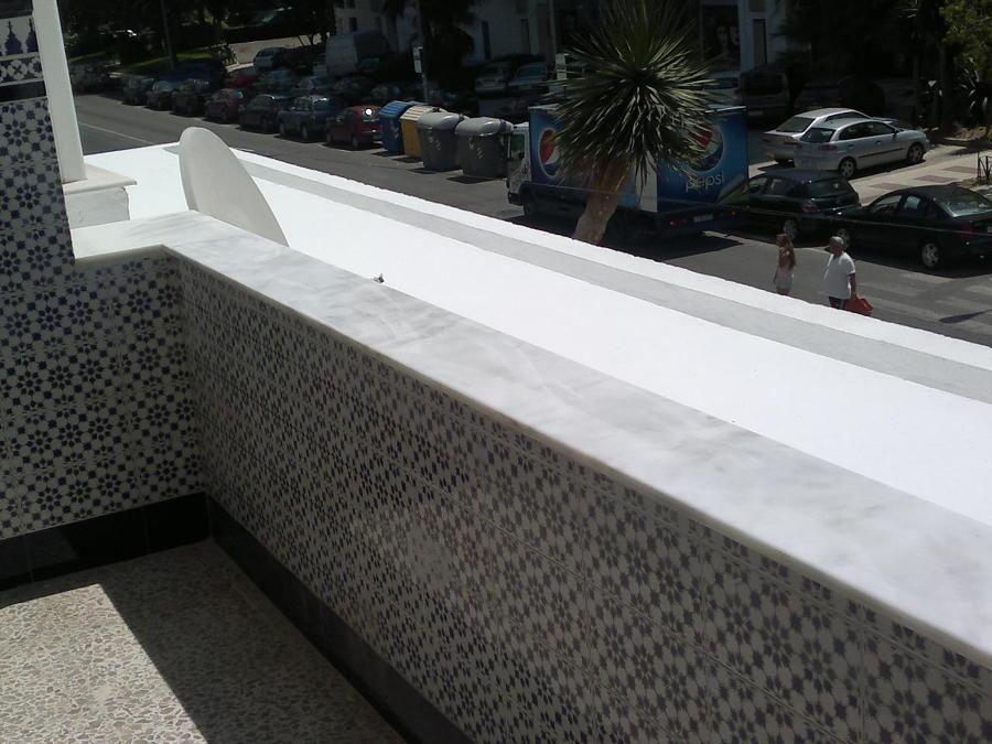 muro de terraza