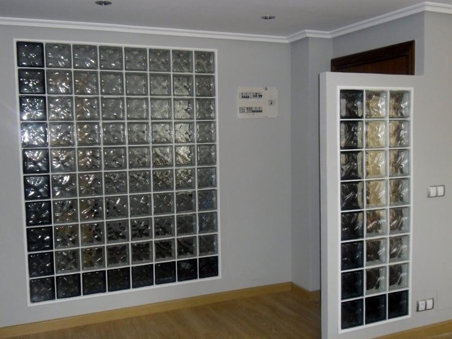 Foto muro pav s de reformas y multiservicios j rodr guez - Cocinas con bloques de vidrio ...