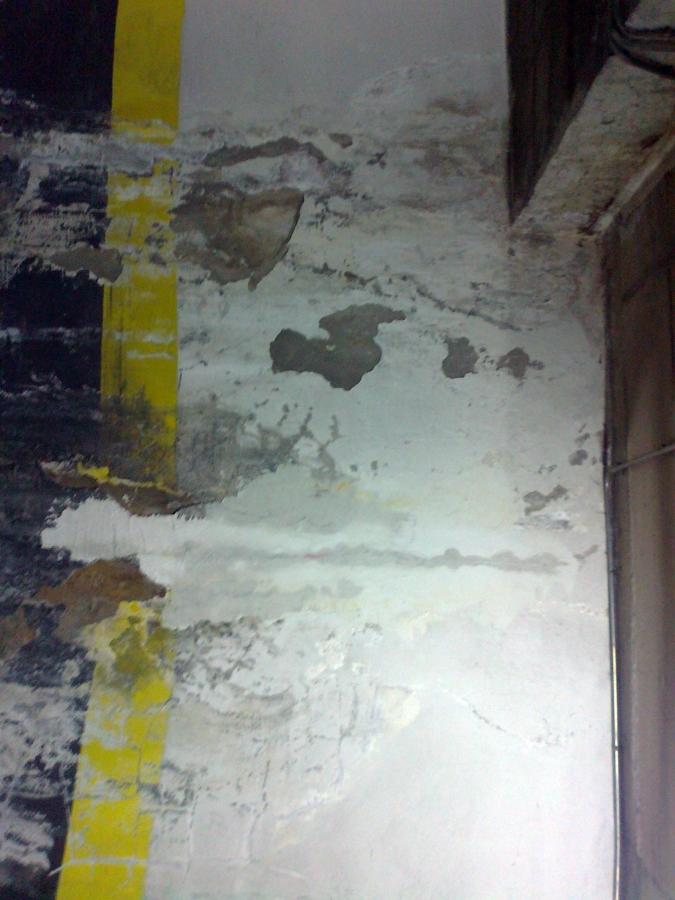 muros de hormigon garaje