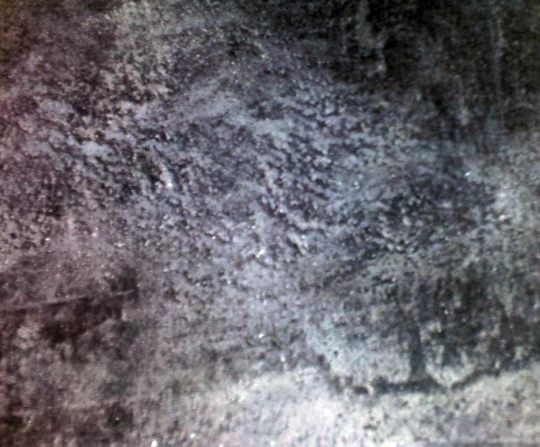 Foto microcemento gris oscuro de iris moracolor pintores for Marmol gris oscuro