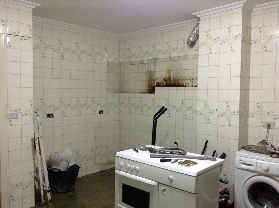 Reforma Cocina en Vigo ANTES