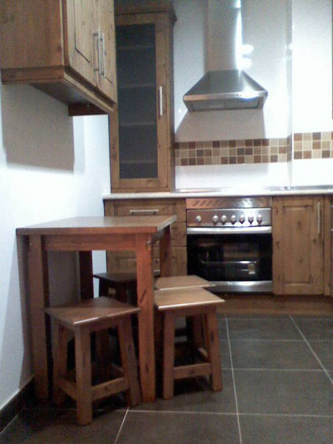 Foto cocina r stica de carpinteria s nchez 485672 for Muebles sanchez zaragoza