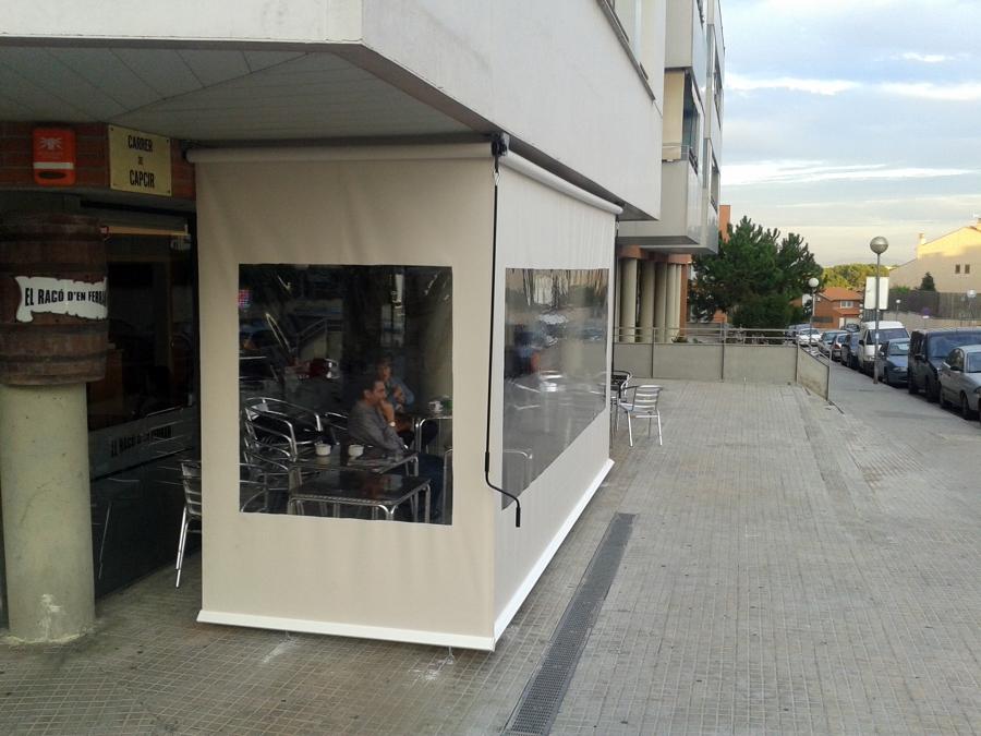Vertical con ventanas