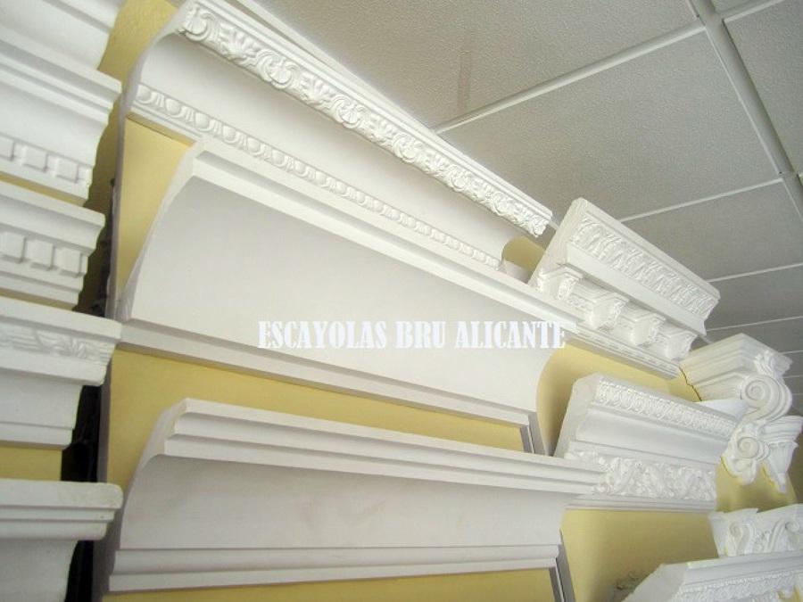 Foto cornisas de escayola de escayolas bru 486074 - Molduras de escayola precios ...