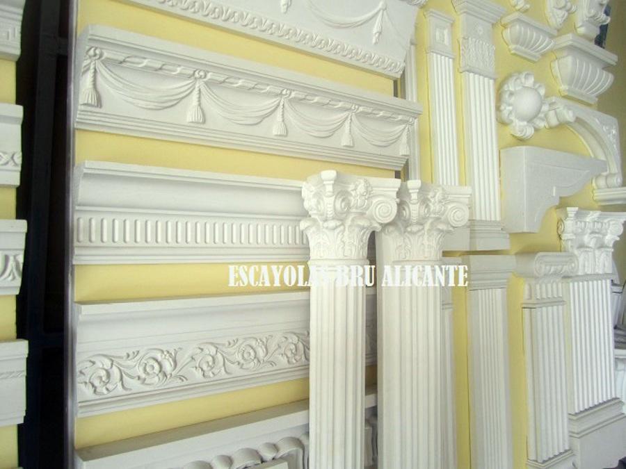 Foto exposici n y cat logo de molduras columnas m nsulas arcos pilastras capiteles etc - Molduras de escayola ...