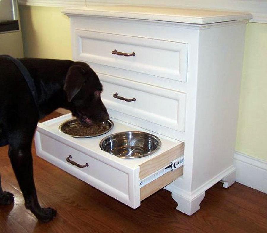 Muebles de madera para mascotas