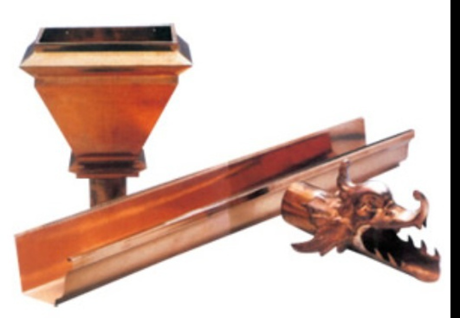 Foto canalon de cobre natural de canalones canaltom - Canalon de cobre ...