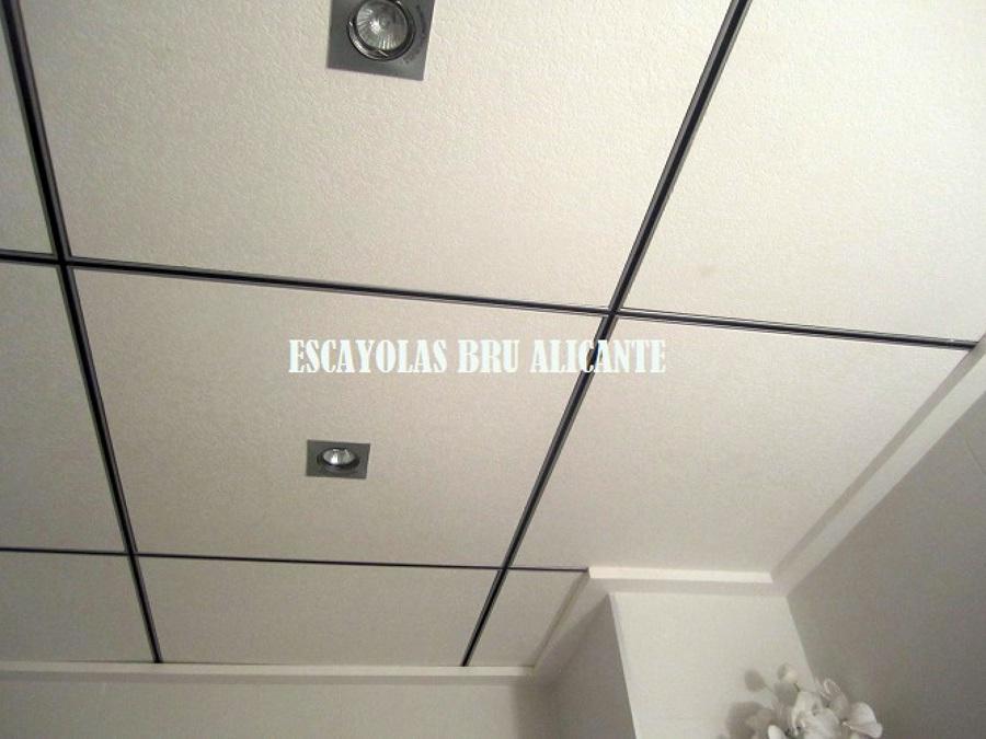 Foto techo de escayola desmontable perfiler a fineline - Techos de escayola modernos ...