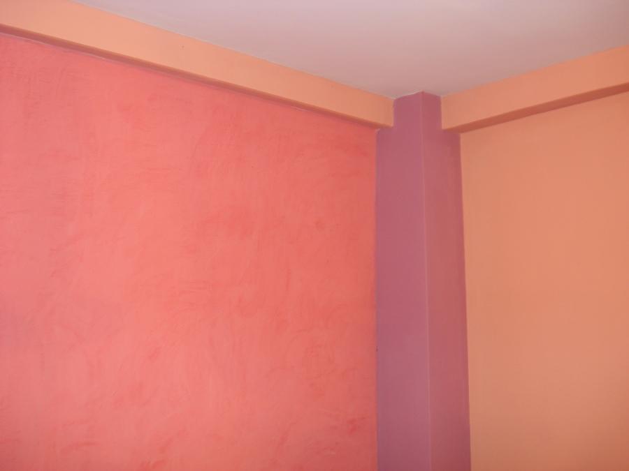 Estuco Veneciano de color rosa