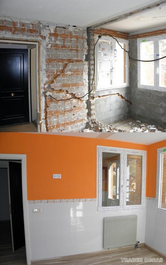 ampliacion y reforma vivienda en c.Alamos_Rivas_por Traber Obras
