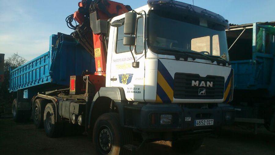 MAN 410 TRAILER CON BAÑERA - CAPACIDAD 40 TN
