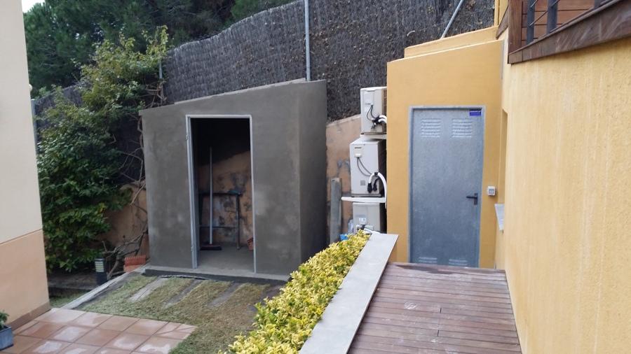 Foto caseta piscina de obres jomi s l 498410 habitissimo for Caseta depuradora piscina
