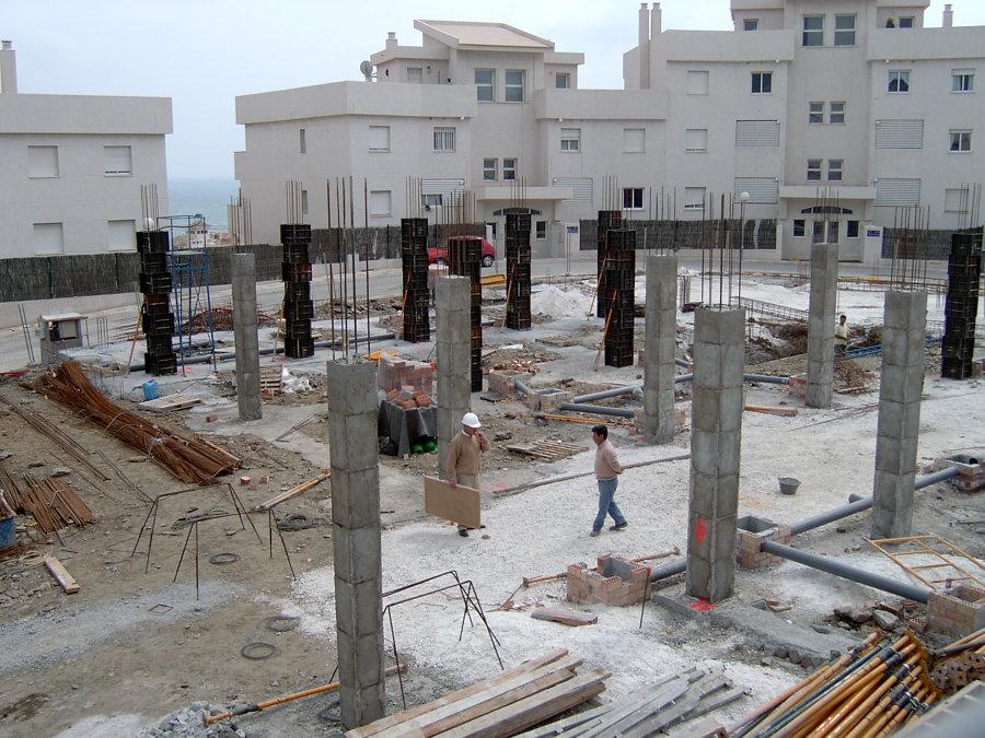 Trabajos de cimentación y estructura en Benalmádena-Costa