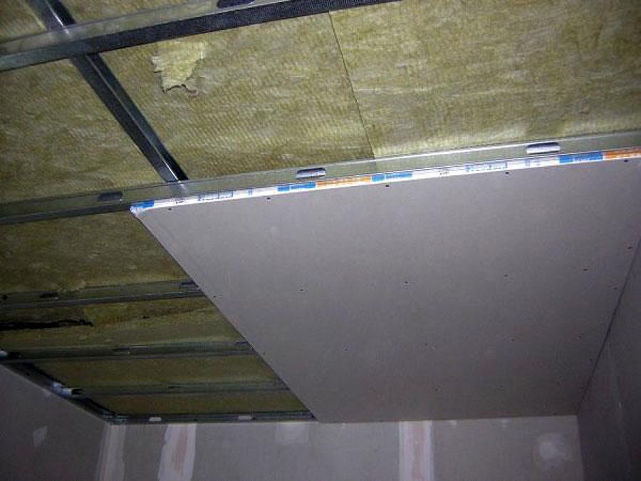 Foto techo continuo insonorizado de pladur de pladur - Fotos de techos de pladur ...
