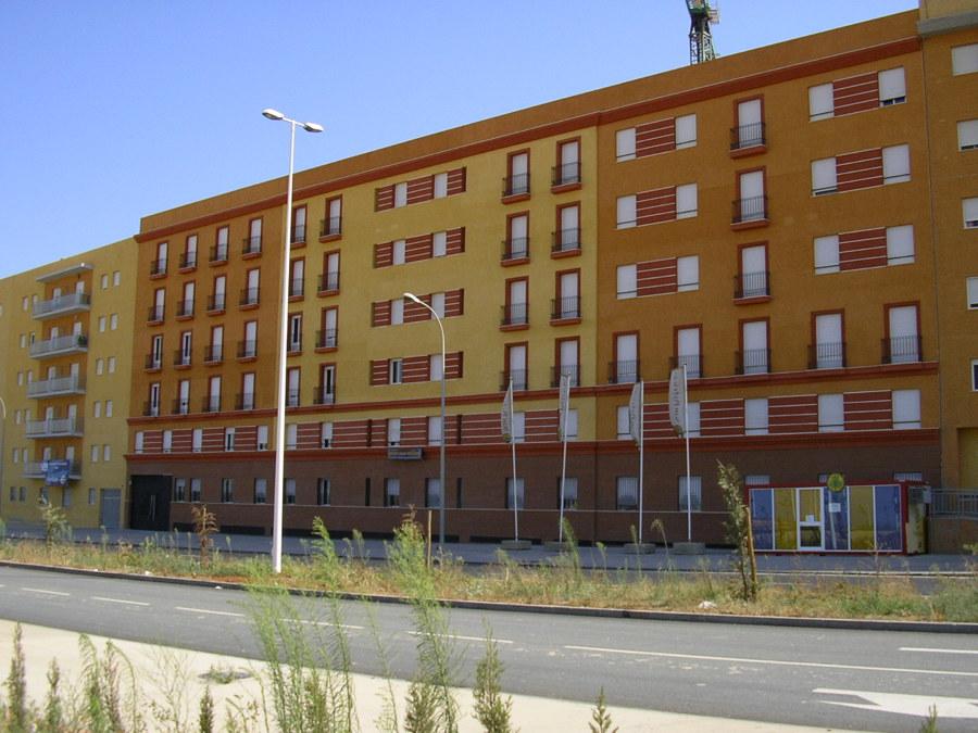 72 viviendas y 2 plantas de sótano en Huelva