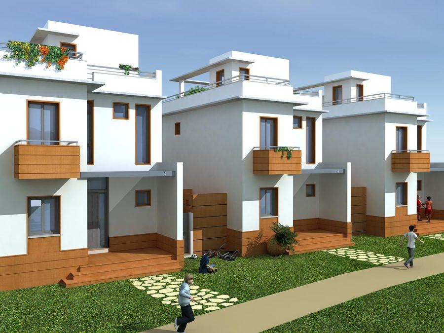 Imagen del proyecto de viviendas unifamiliares en Islantilla