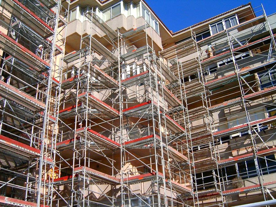 Rehabilitaciones de fachadas del edificios