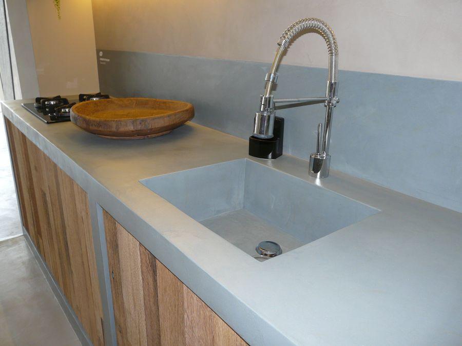 Foto Cemento Pulido Mineral Deco De Mineral Deco 502330