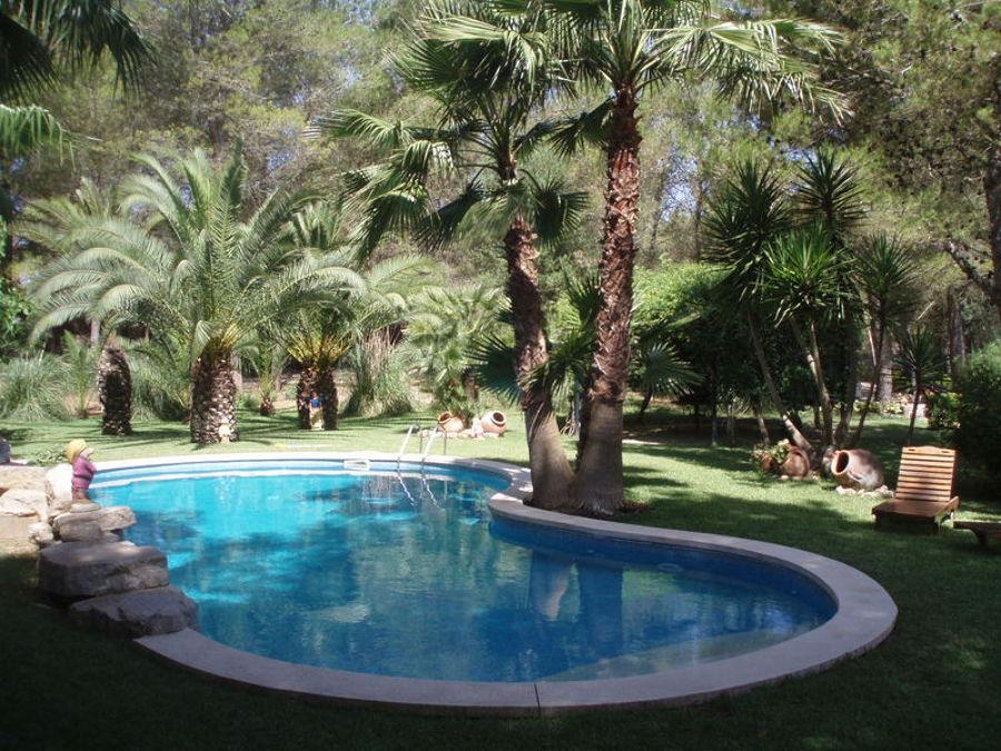 Foto construccion piscina y jardin de construmasa balear for Piscina y jardin 2002 s l