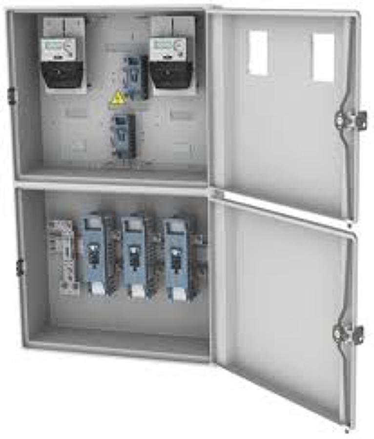 Foto armarios de contadores tipo cpm de electricidad vcg for Armario contador luz