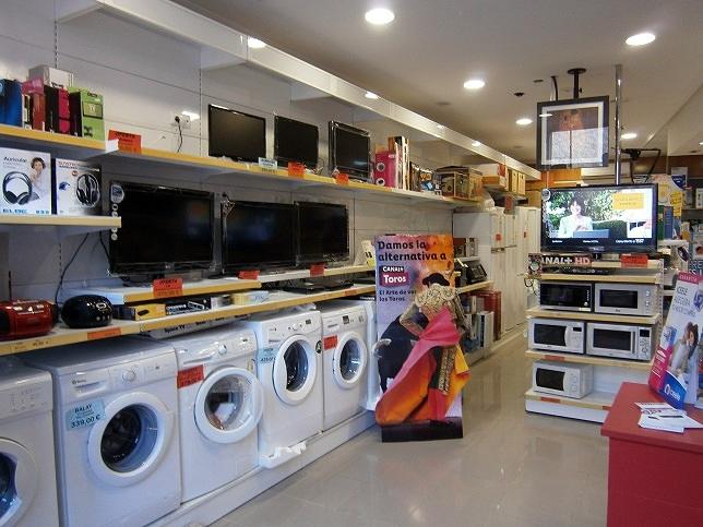 Foto nuestra tienda de electrodom sticos de instalaciones - Electrodomesticos sevilla ...