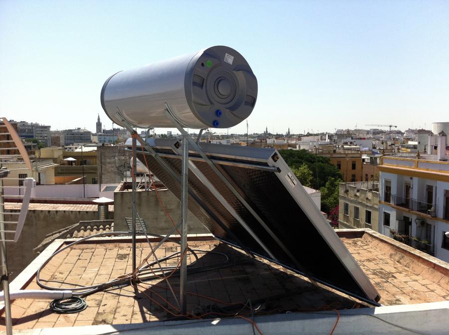 Foto nuestros trabajos energ a solar de tu clima - Energia solar tenerife ...
