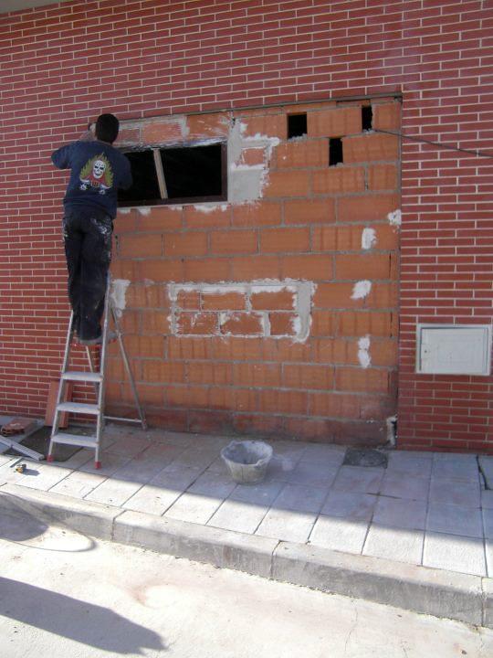 Obra civil para Centro de belleza.