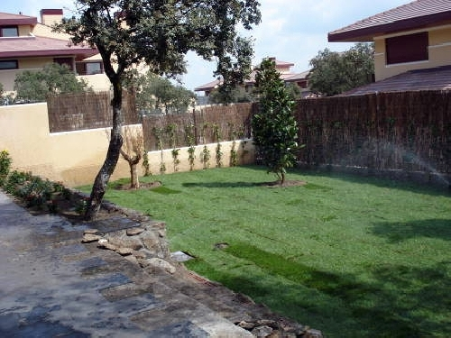 Obra Jardin en Torrelodones
